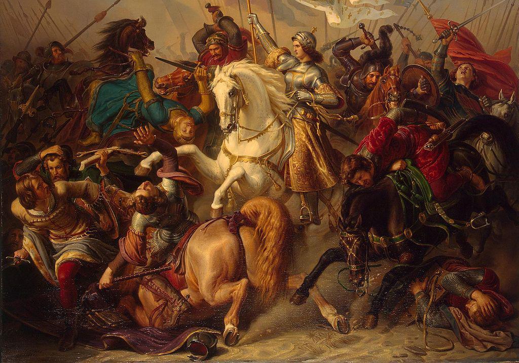 Joan of Arc - Hermann Stilke