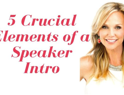 5 Elements of a Speaker Intro that will Set You Up for Success